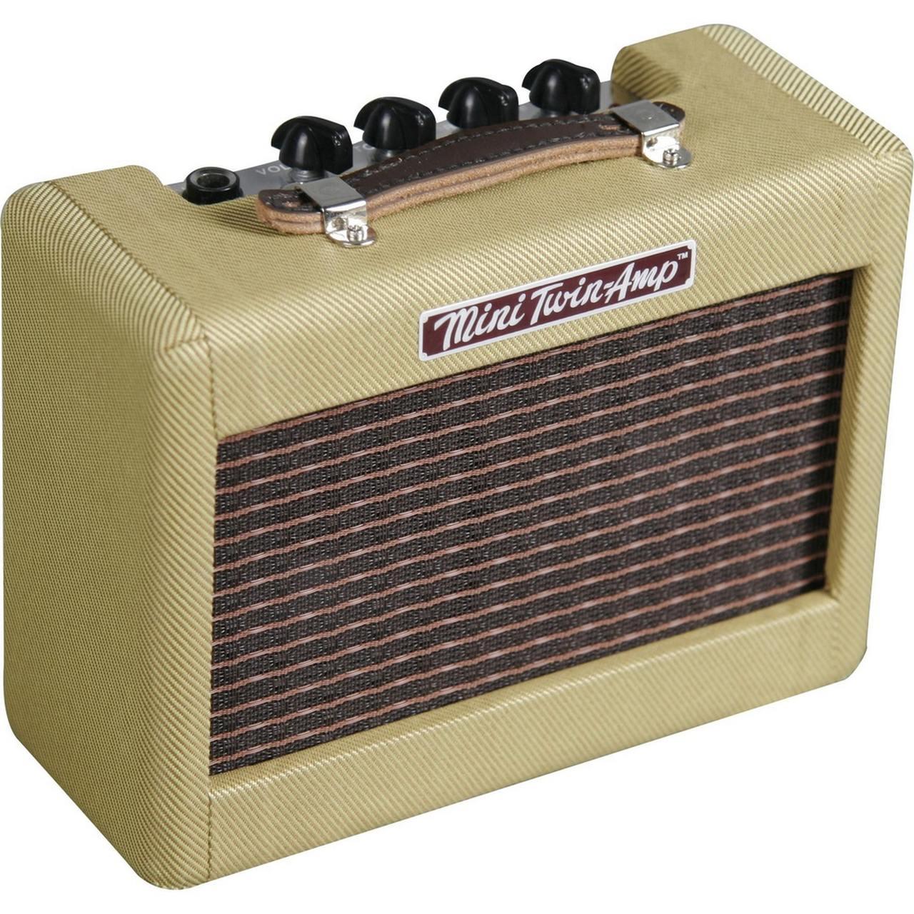Mini Amplificador Fender Twin Amp 57' Tweed Vintage