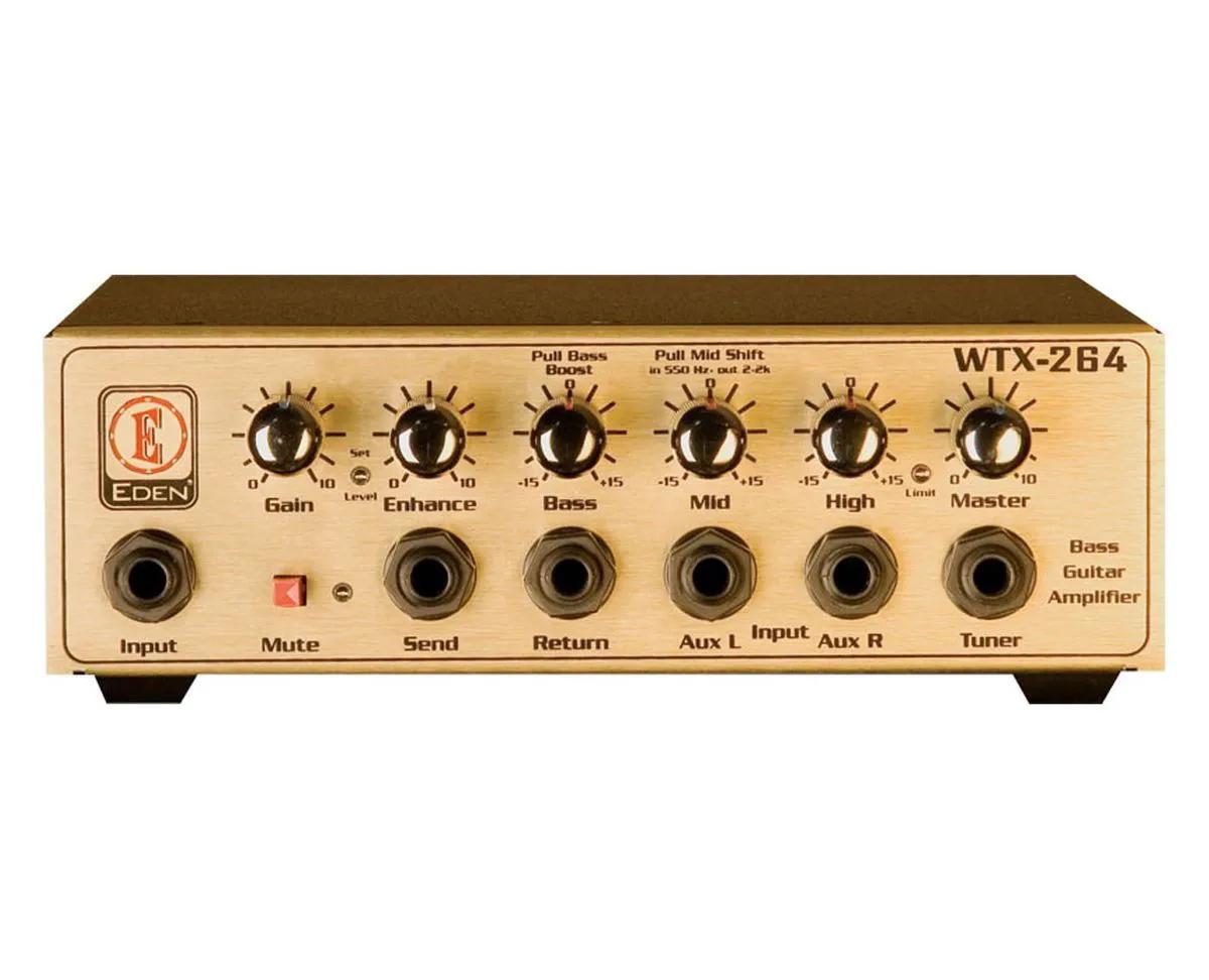 Mini cabecote p/contra baixo, 300W, 4 Ohms WTX264-B - EDEN