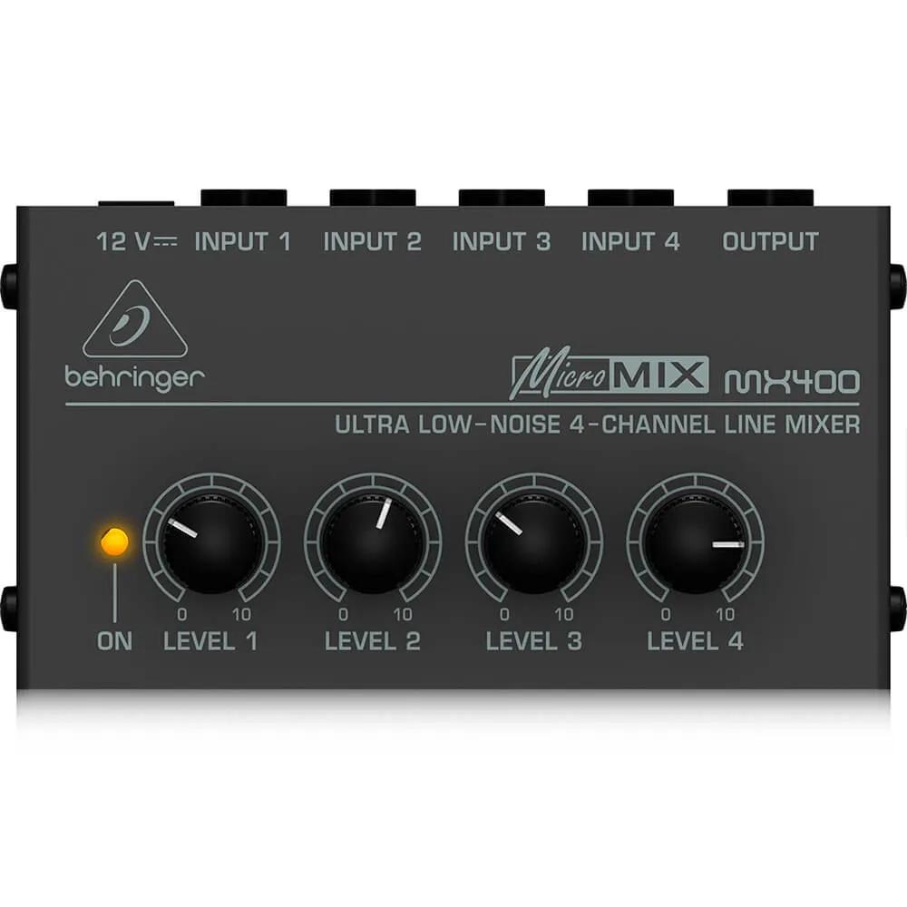 Mixer Analógico Behringer Micromix MX400 4 Canais 110V