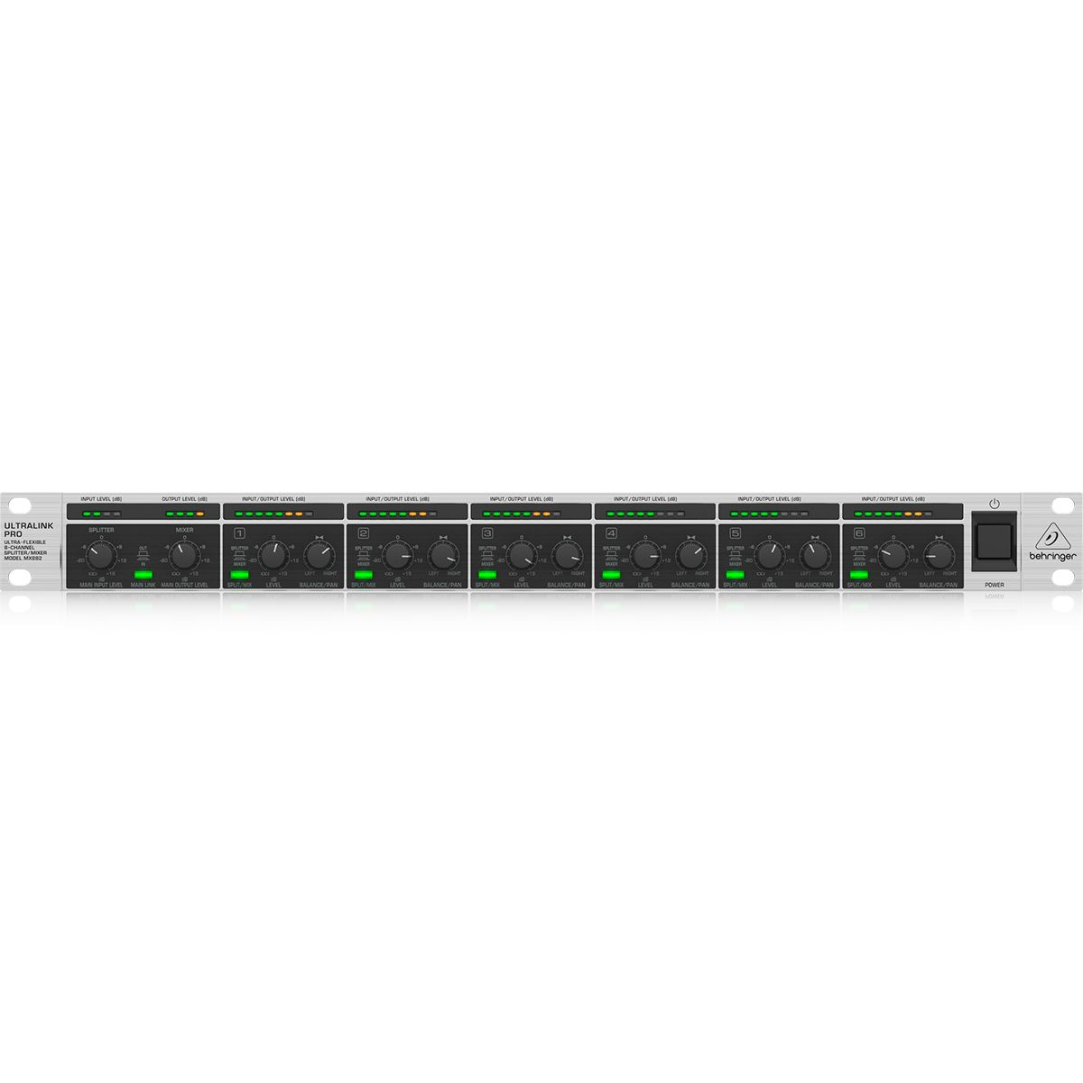 Mixer Dj Behringer Ultralink Pro MX882 8 Canais 110V