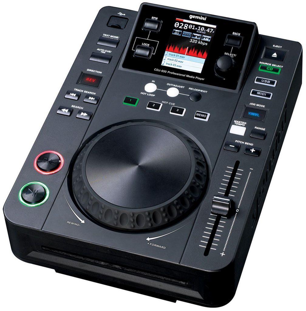 Mixer Gemini CDJ 650 USB