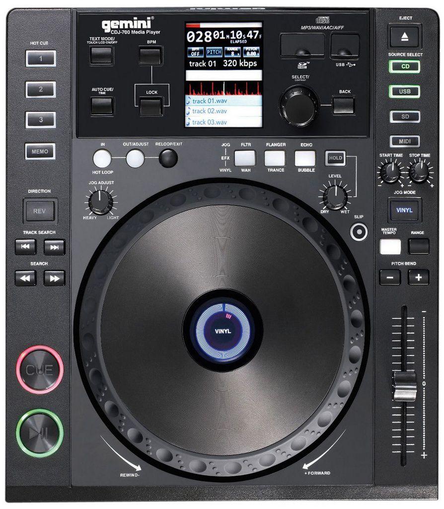 Mixer Gemini CDJ 700 USB