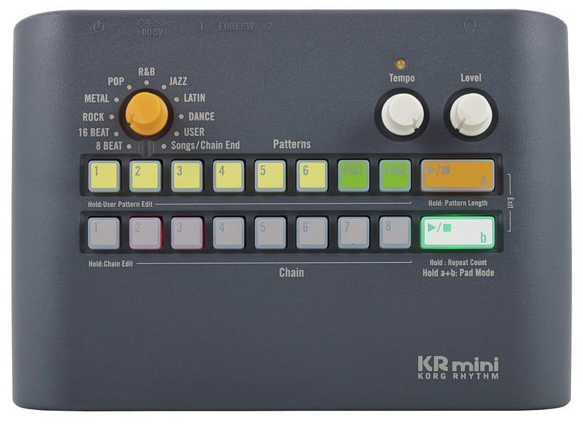Módulo de Bateria Eletrônica Korg KR-MINI