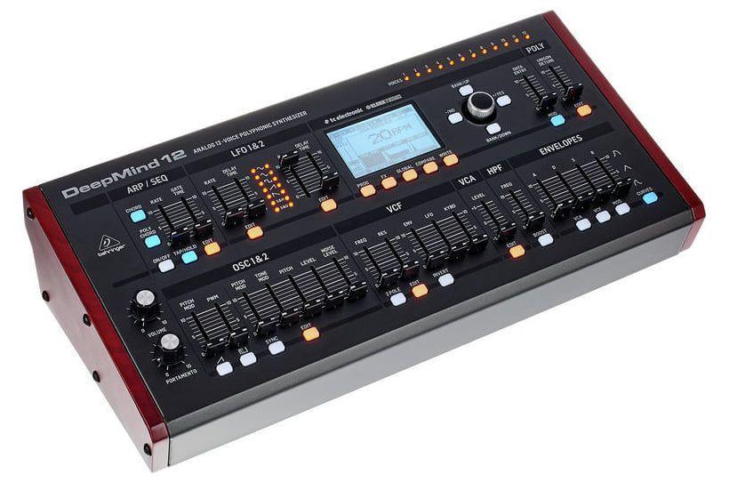 Módulo Sintetizador Behringer Deepmind 12D 8 Canais