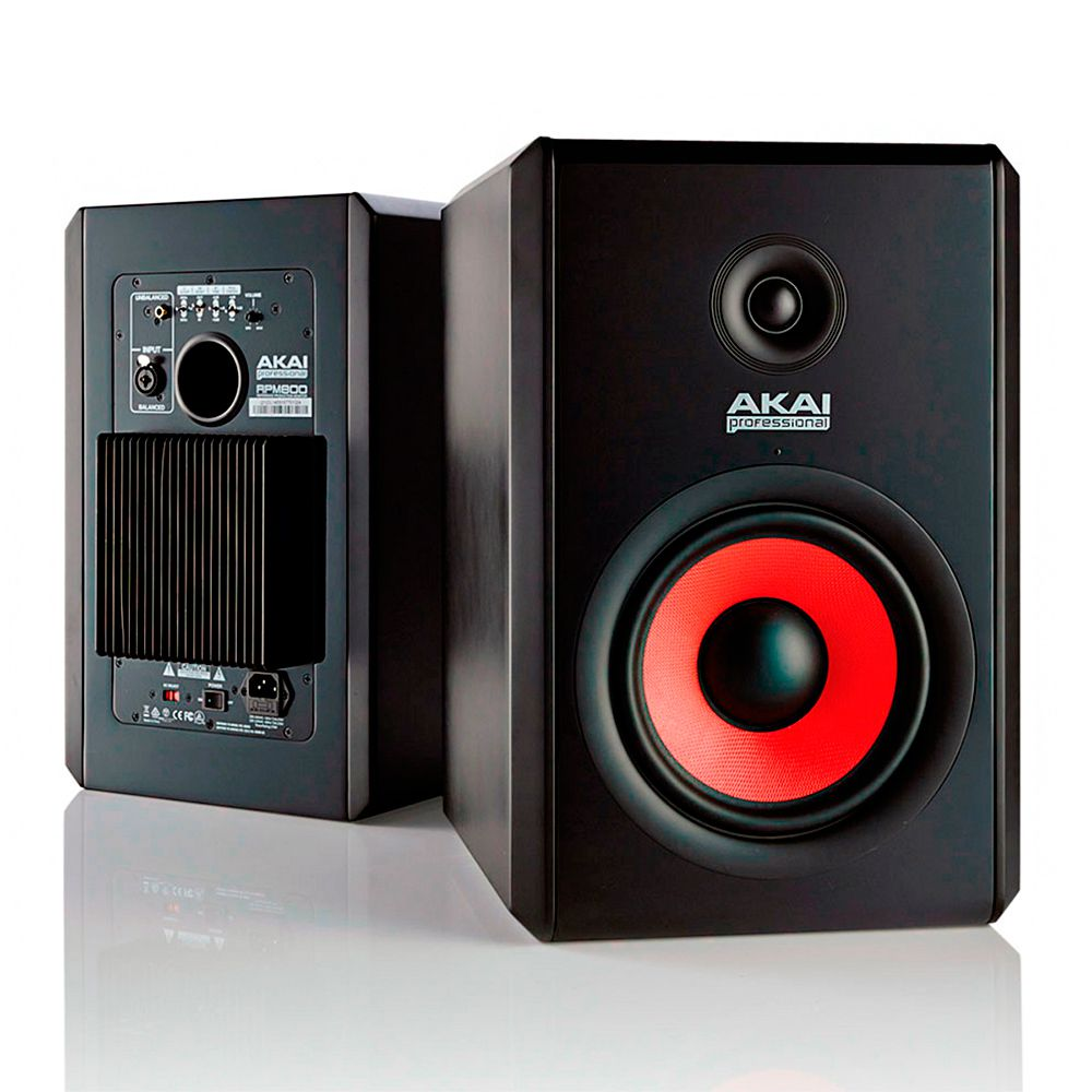 Monitor de Estudio Akai Professional RPM500 Red ( Par )