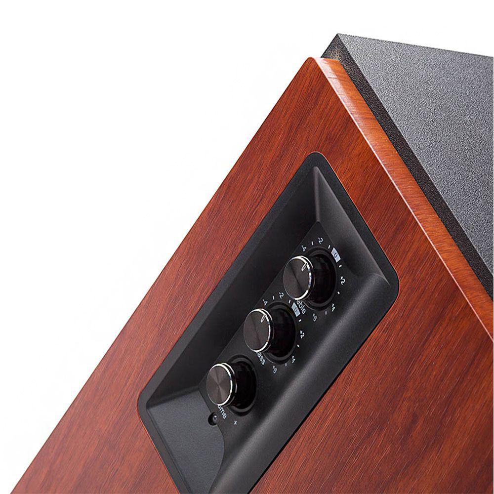 Monitor de Referência Ativo Edifier R1700BT 4'' 66w (par) Bluetooth Marrom