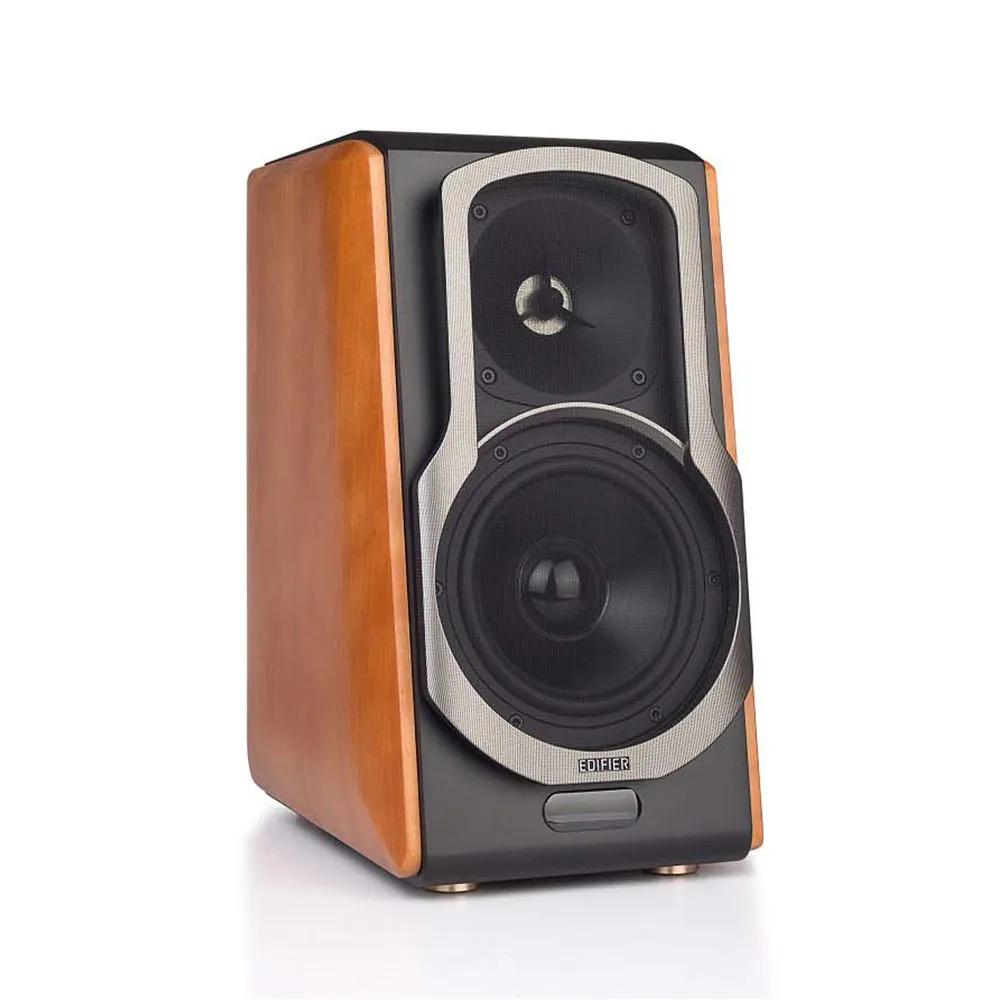Monitor de Referência Ativo Edifier S2000 Pro 5'' 124w (par) Bluetooth Marrom