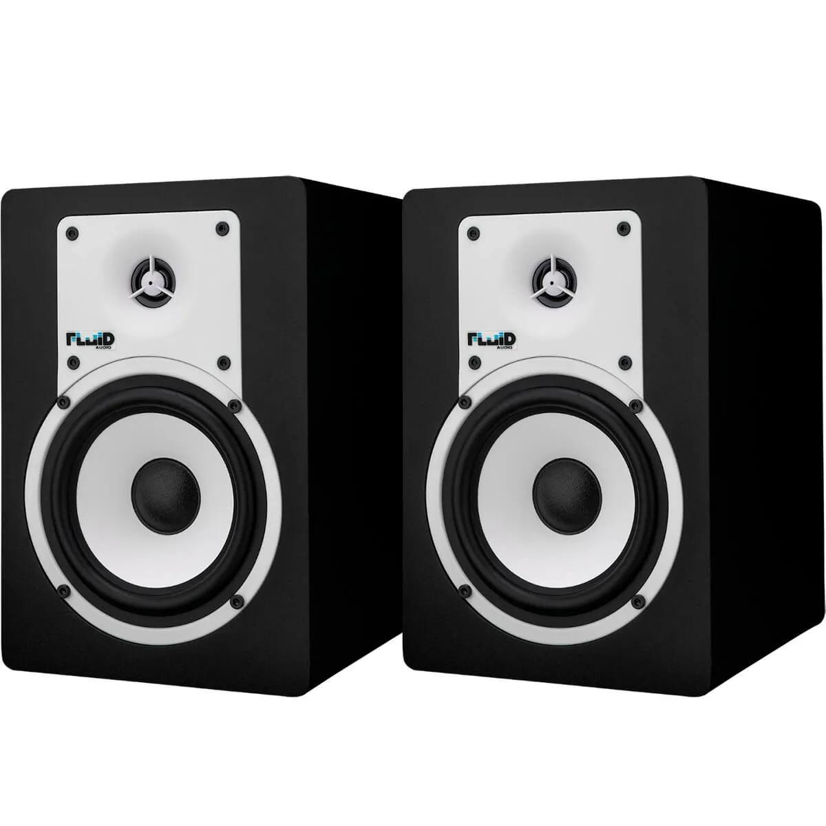 Monitor de Referência Fluid Audio C5 Classic 40w Black (Par)