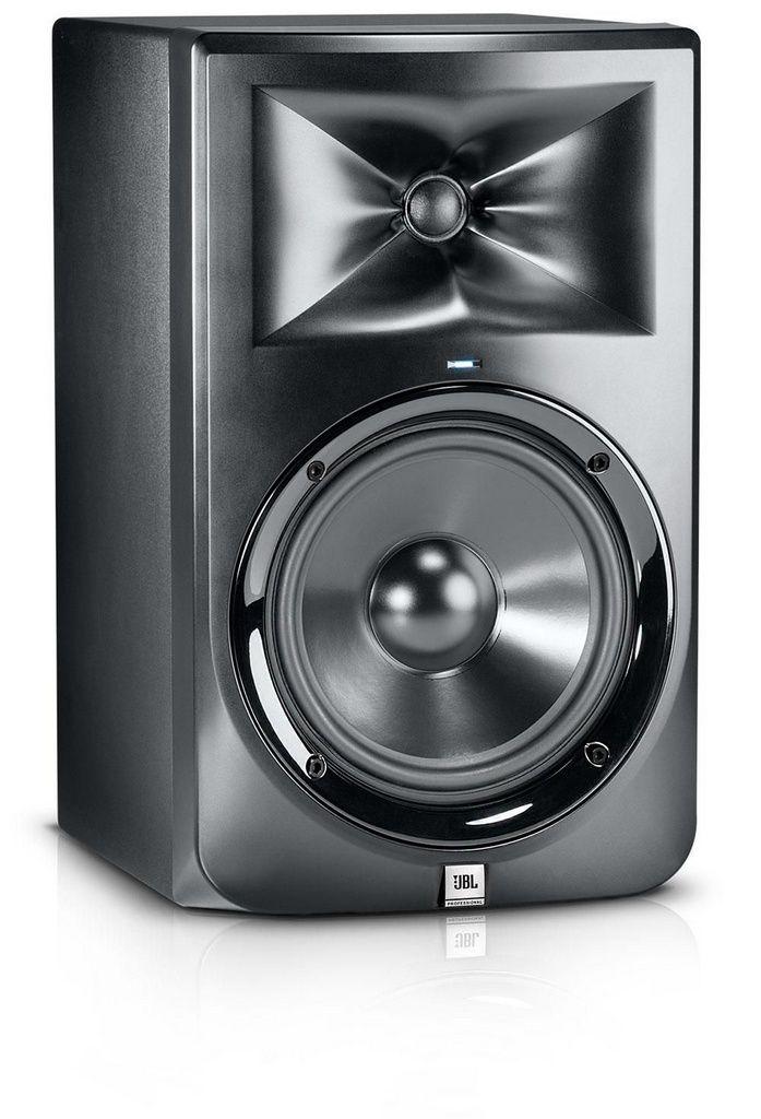 Monitor de Studio JBL LSR308 Bi-Amplificada 8'' Bivolt (PAR)
