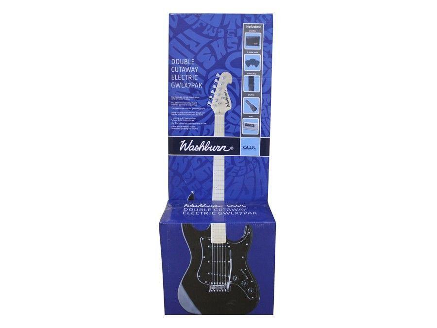 Pack guitarra X7 vermelha 110V - X7R PAK - WASHBURN