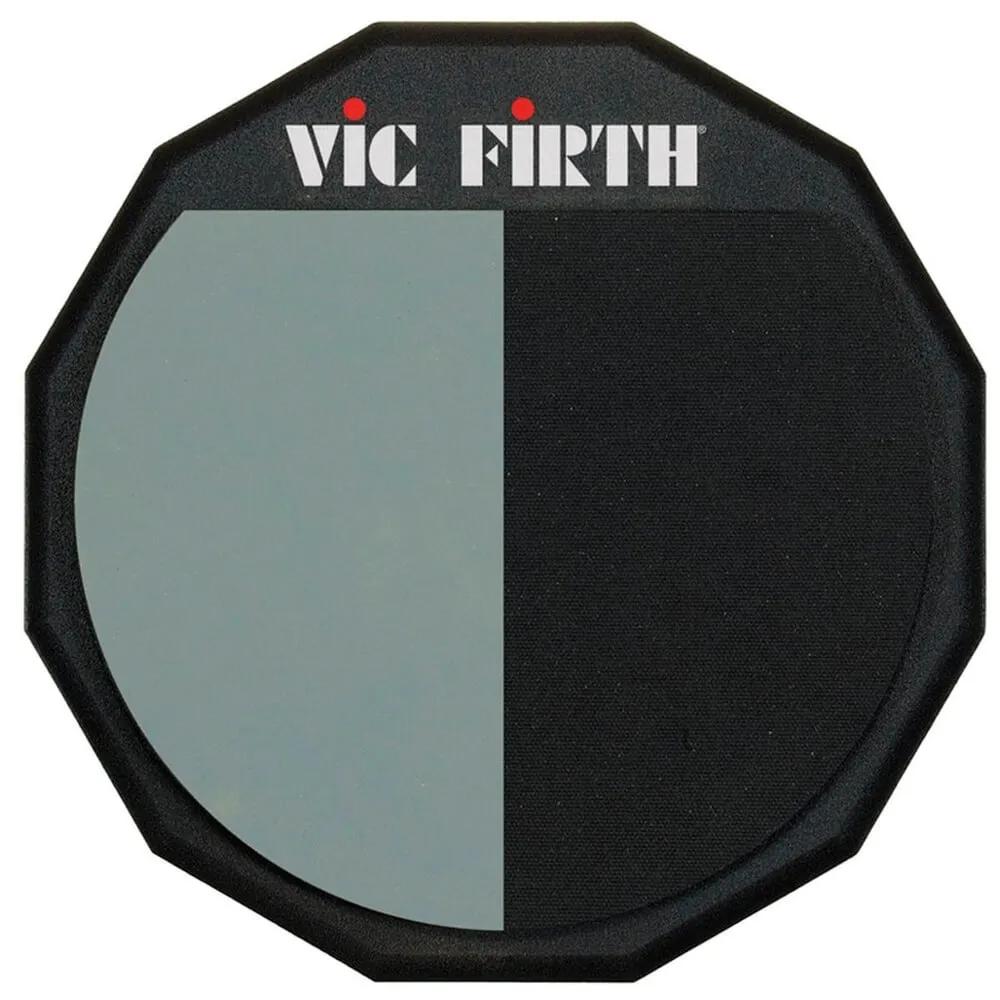 Pad P/estudo Superficie Dupla Pad12h Vic Firth