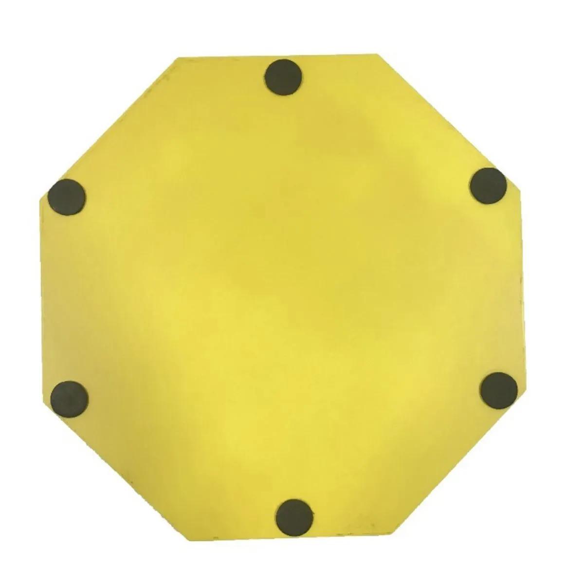 Pad de Estudo Spanking Profire E.V.A 270 Amarelo e Preto