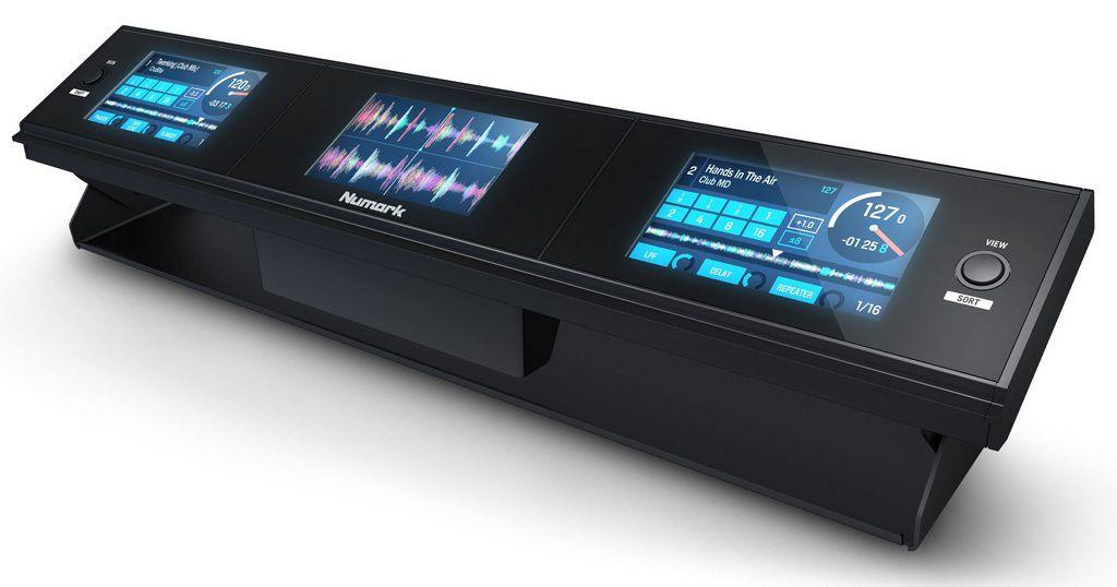 Painel de Controle Numark Dashboard 3 Screen Display Serato DJ Accessory