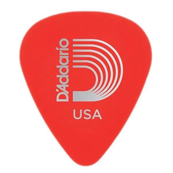 Palheta D'addario 1DRD1-25 Duralin Light Gauge 0,50mm Vermelho