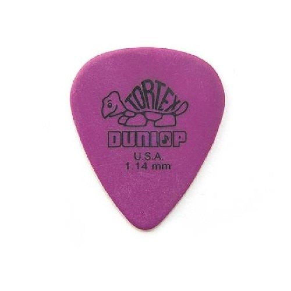 Palheta Dunlop Tortex 1,14MM Roxa