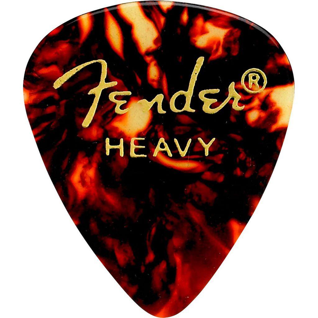Palheta Fender Classic Celluloid Picks 351 Shell