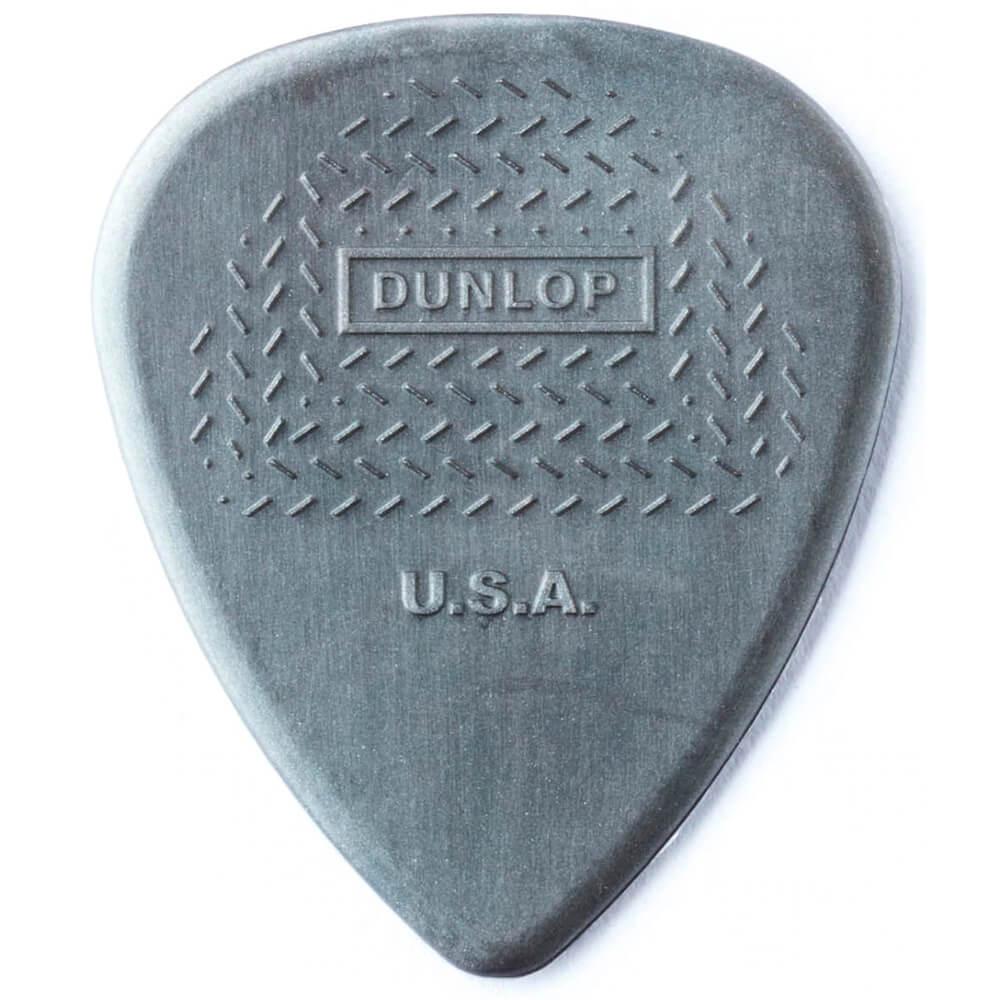 Palheta Maxgrip Nylon 1.14mm Cinza Pct C/12 449p.1.14 Dunlop