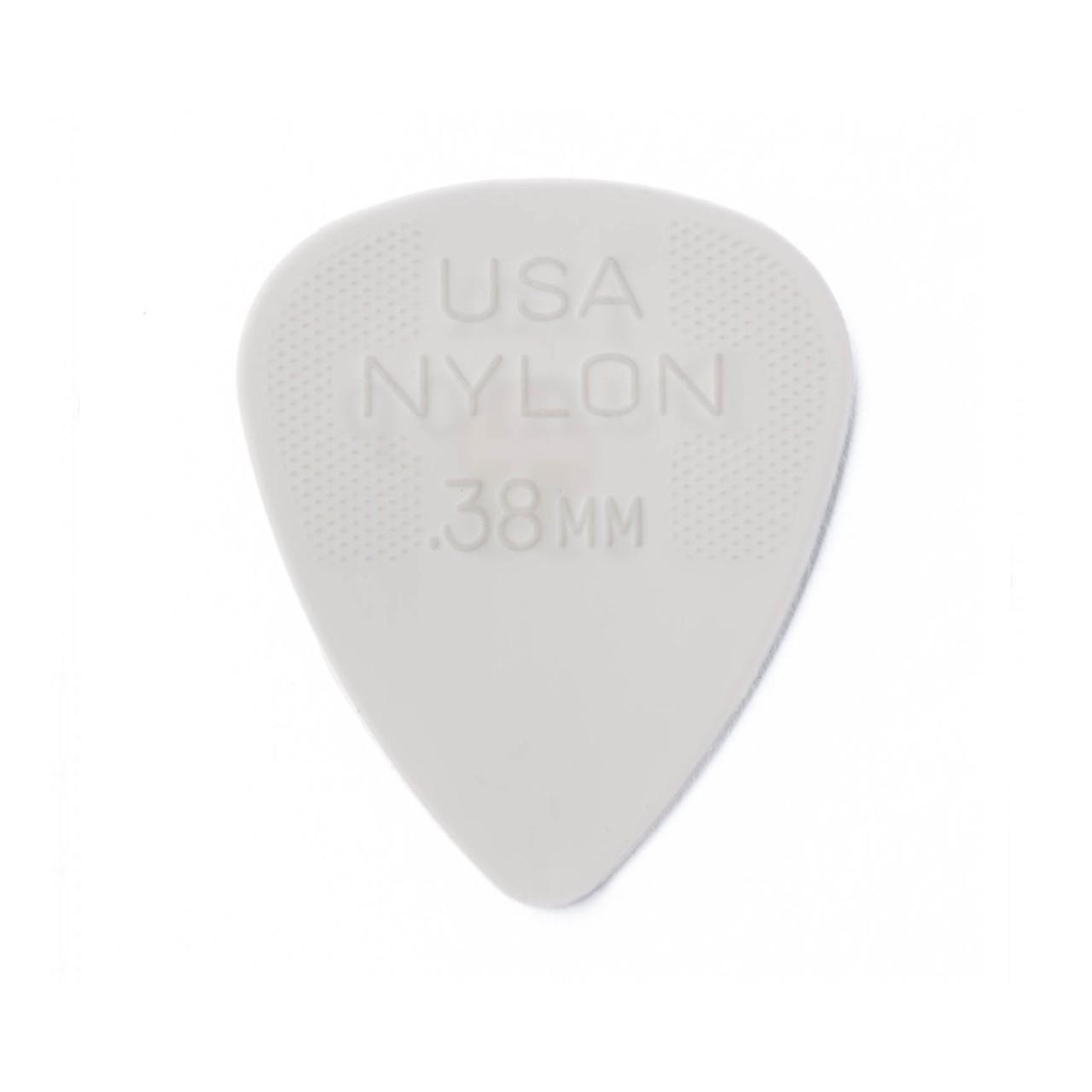 Palheta Nylon Standard 0,38mm Branca Pct C/72 44r.38 Dunlop