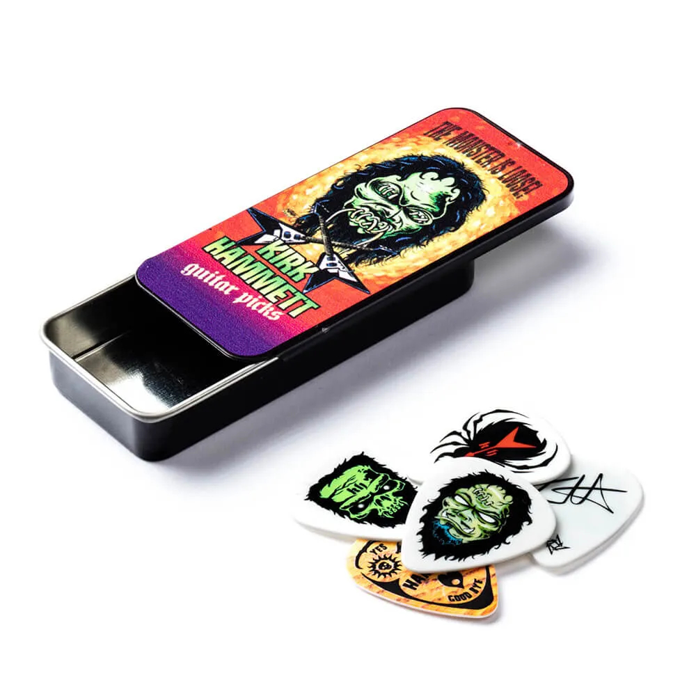 Palheta Pick Tin 0.88mm Kirk Hammett Cx C/6 Kh01t088 Dunlop