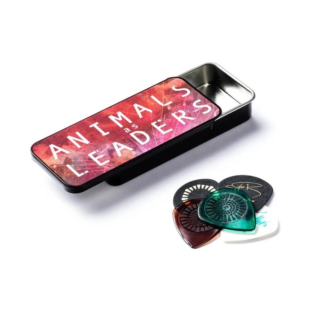 Palheta Tortex Jazz Iii C/ Primetone 0,60mm E 0,73mm Animals As Leaders Cx C/6 Aalpt01 Dunlop