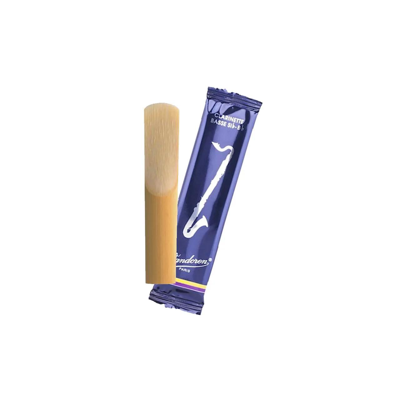 Palheta Tradicional 3,5 P/ Clarinete Baixo Cx C/5 Cr1235 Vandoren
