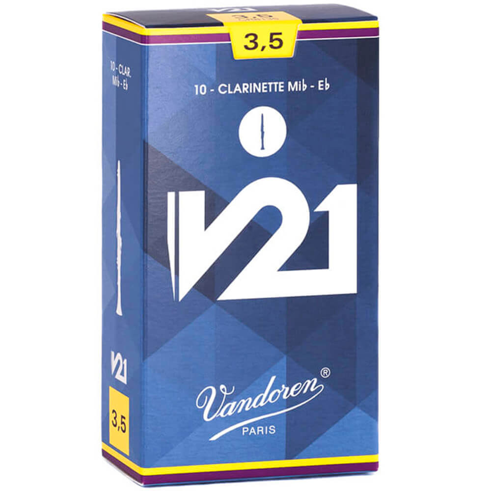 Palheta V21 3,5 P/clarinete Eb Cx C/10 Cr8135 Vandoren