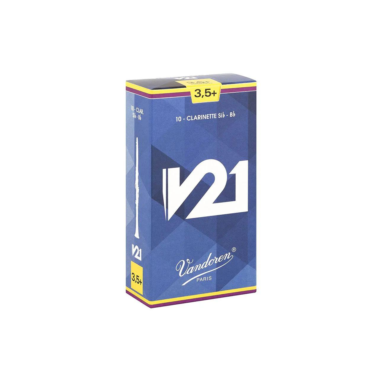 Palheta V21 3,5 P/clarinete Sib Cx C/10 Cr8035 Vandoren