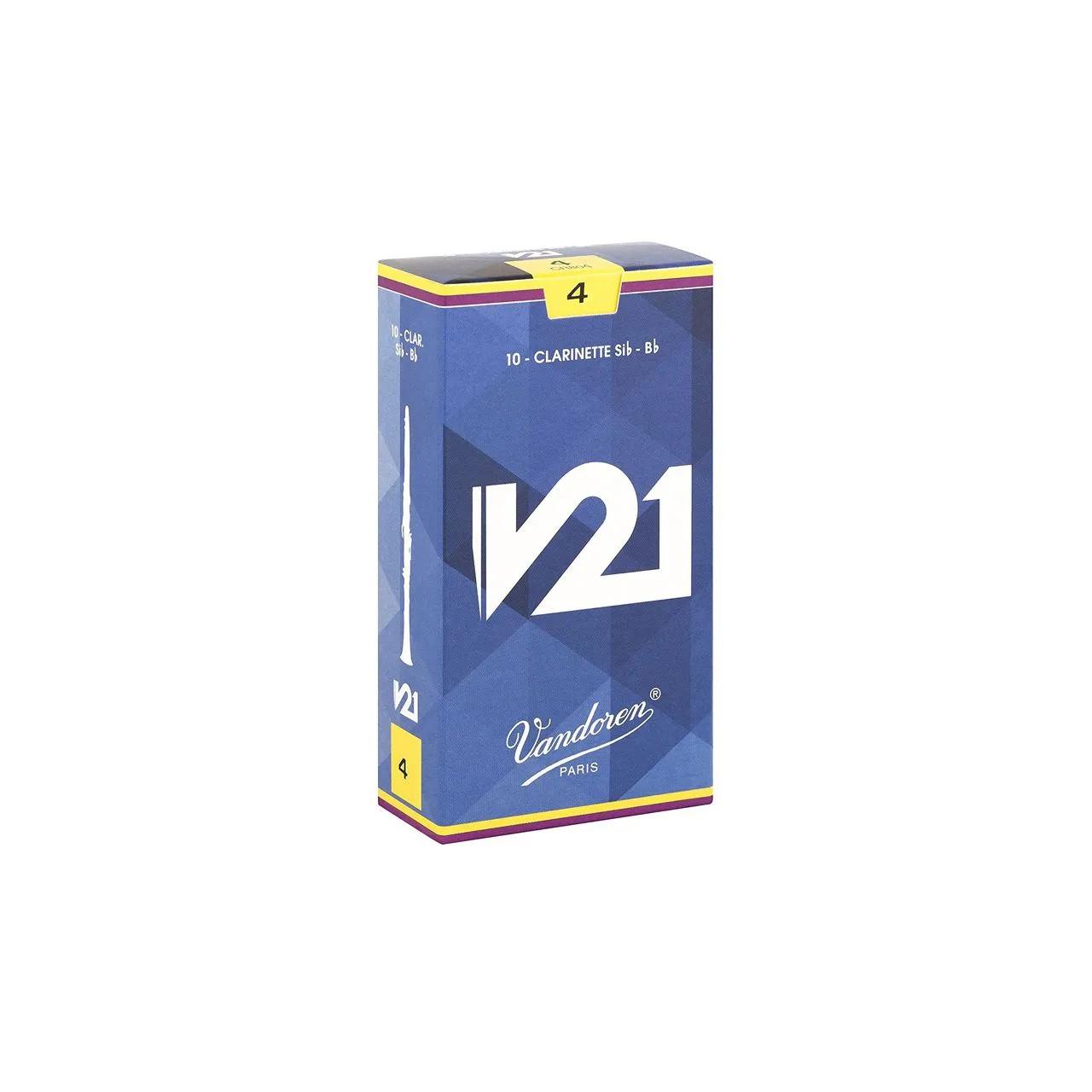 Palheta V21 4 P/ Clarinete Sib Cx C/10 Cr804 Vandoren