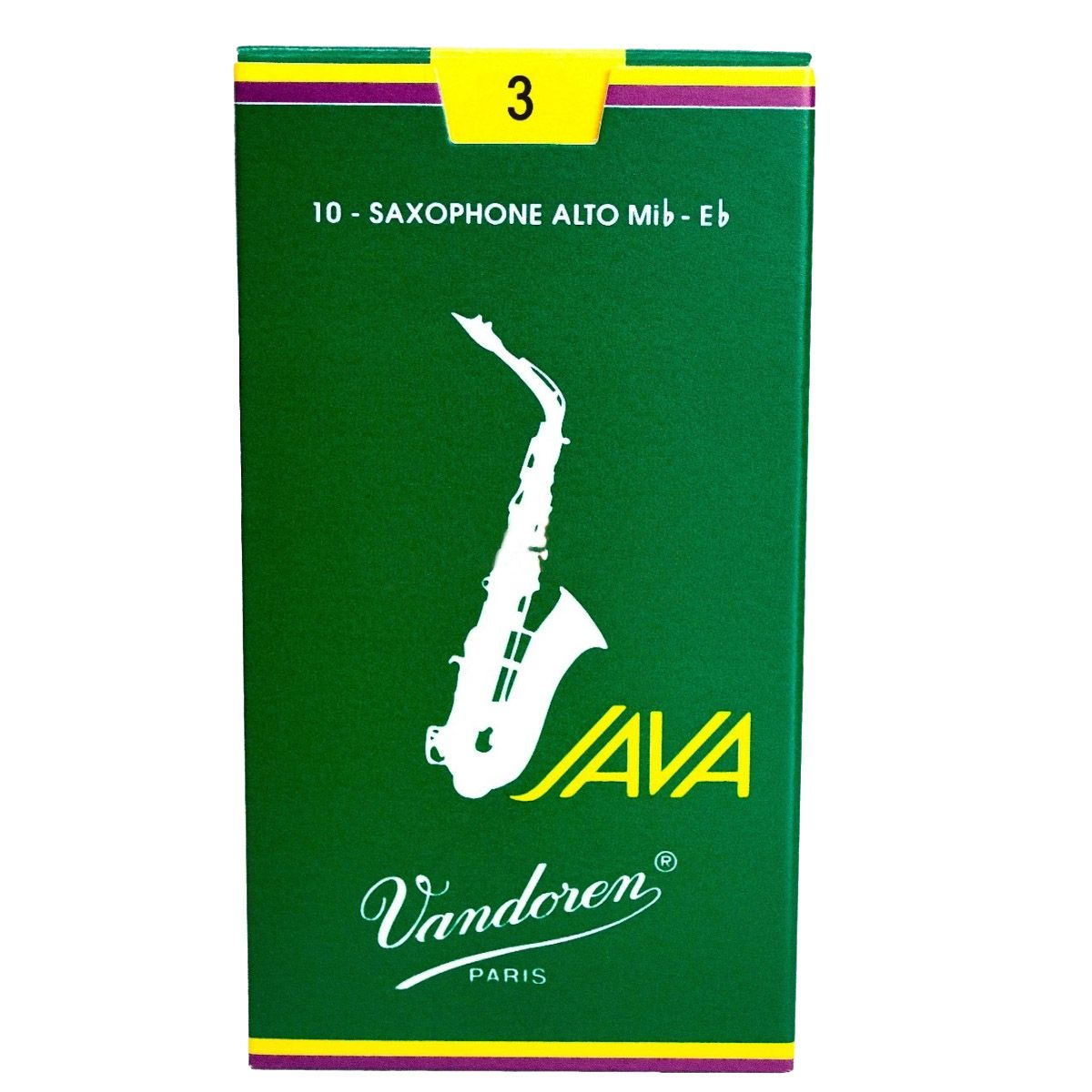 Palheta Vandoren Java Nº 3 para Sax Alto