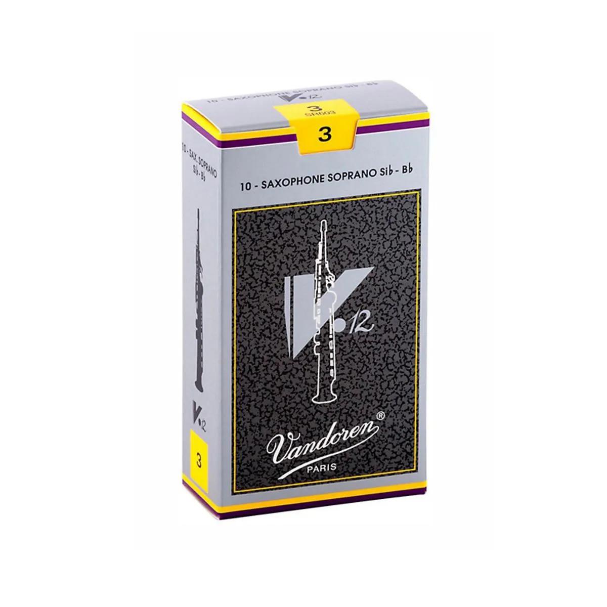 Palheta Vandoren V12 Nº 3 para Sax Soprano