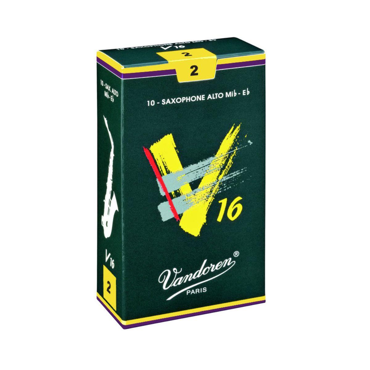 Palheta Vandoren V16 Nº 2 para Sax Alto