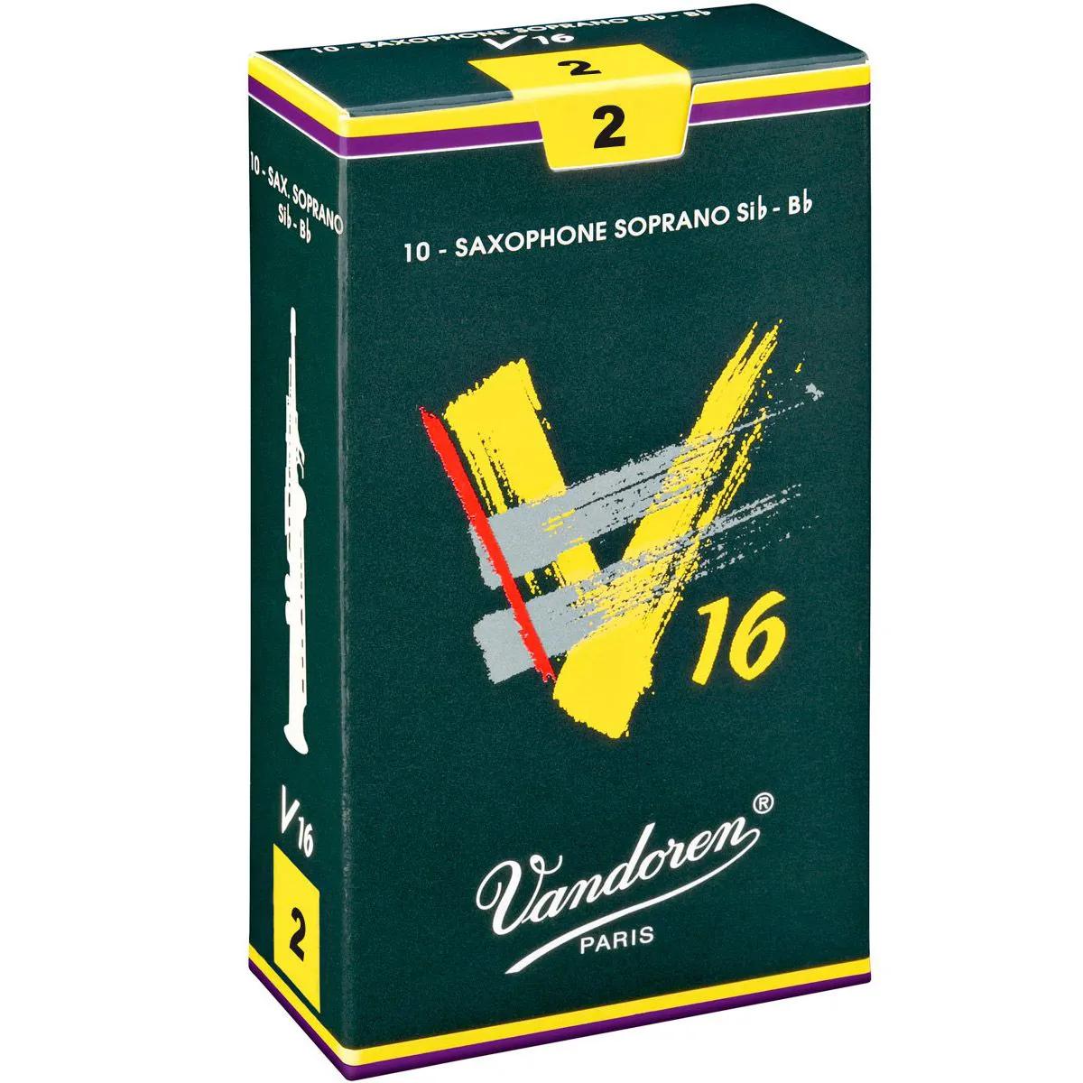 Palheta Vandoren V16 Nº 2 para Sax Soprano