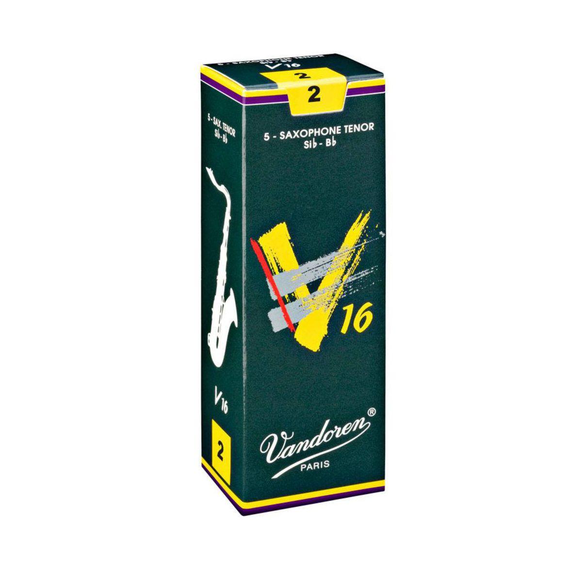 Palheta Vandoren V16 Nº 2 para Sax Tenor