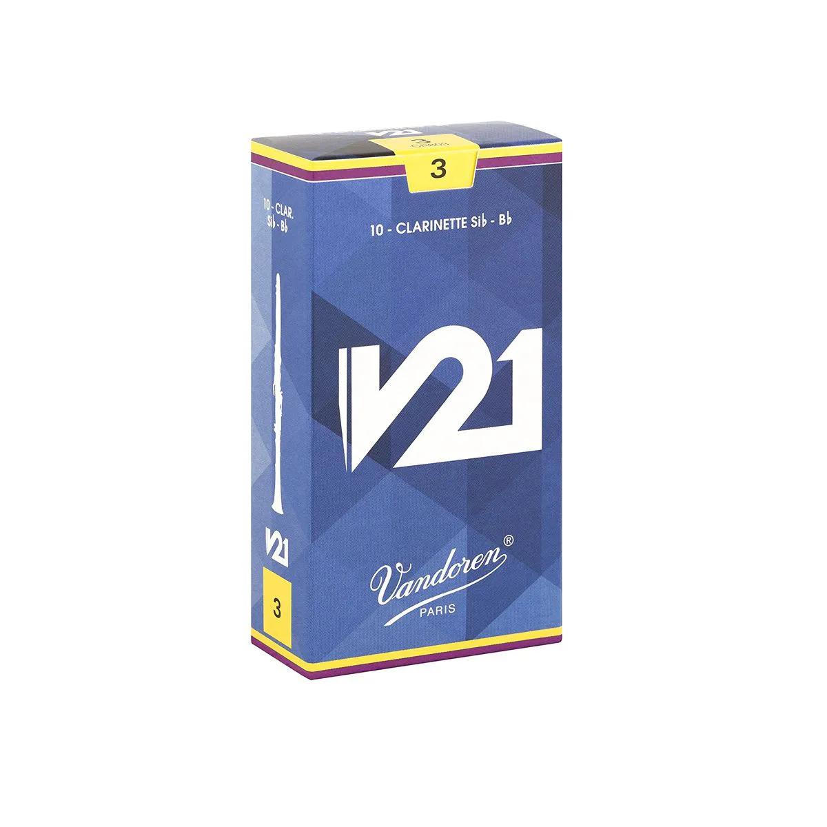 Palheta Vandoren V21 Nº 3 para Clarinete Sib