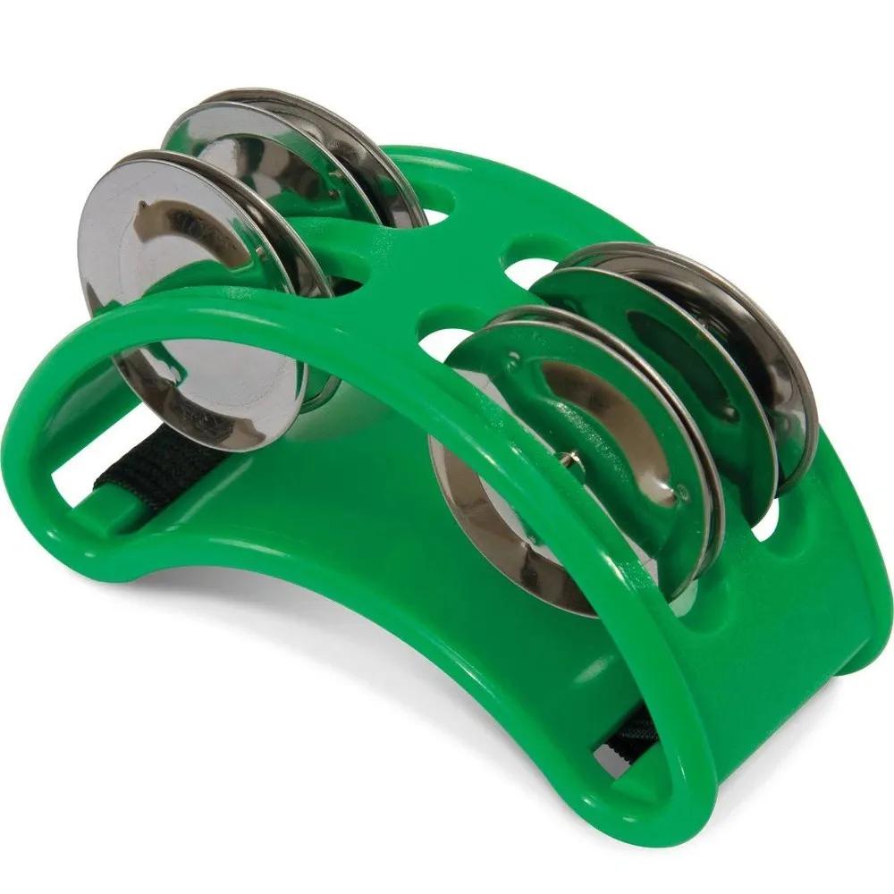 Pandeirola de Pé Spanking Polietileno Verde