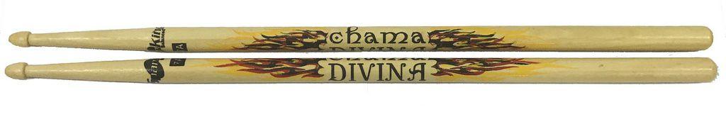 Par de Baquetas Spanking Balanced 7a Chama Divina