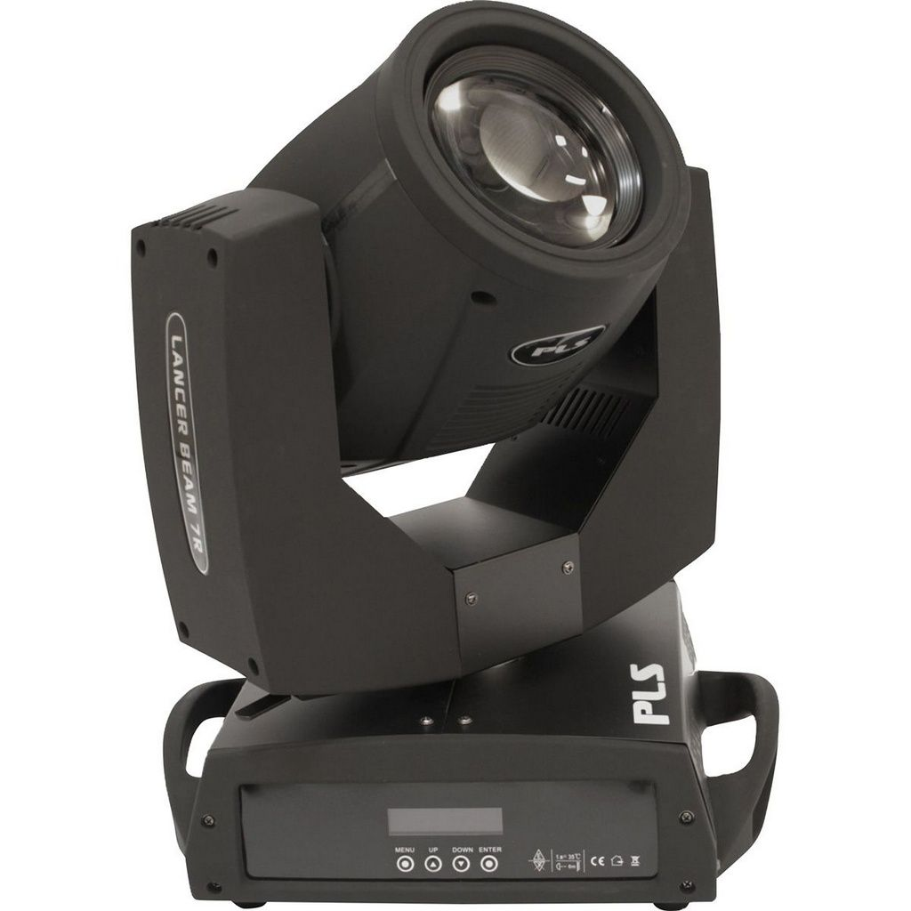 Par de Moving Heads PLS Lancer Beam 7R 230w