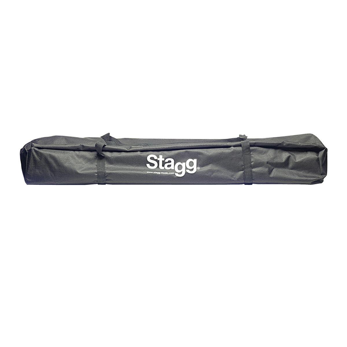 Par de Tripés com Bag para Caixa Stagg SPS0620 BK SET
