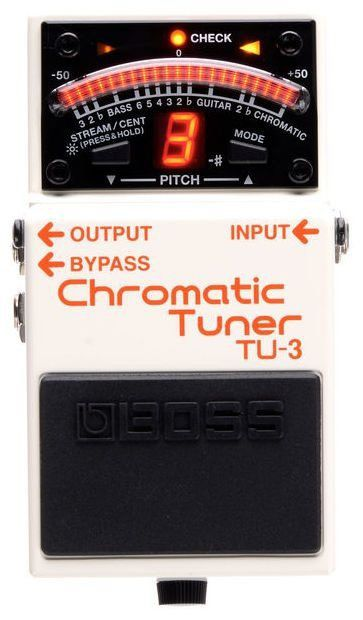 Pedal Afinador Boss Chromatic Tuner TU3