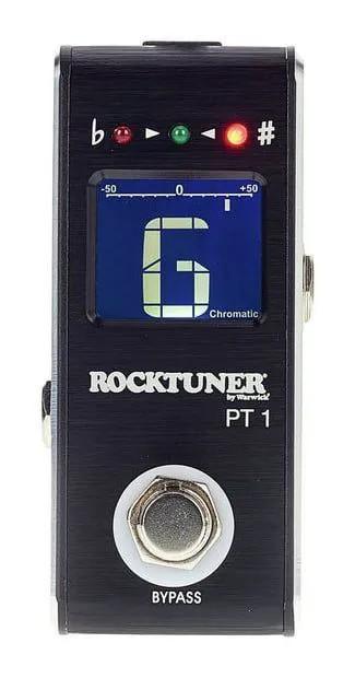 Pedal Afinador Rocktuner PT 1 Mini Black