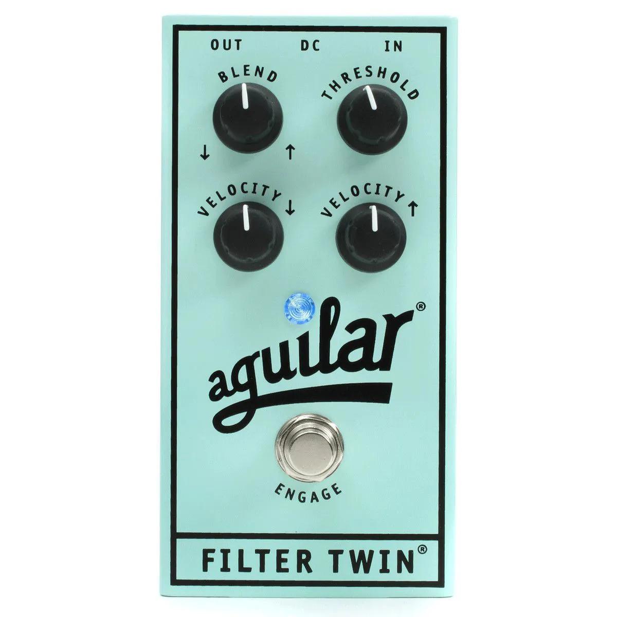 Pedal Aguilar Filter Twin Dual Envelope para Contrabaixo