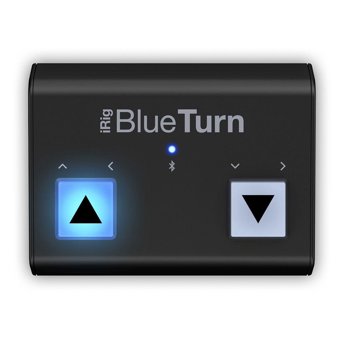 Pedal Controlador IK Multimedia iRig Blue Turn Bluetooth