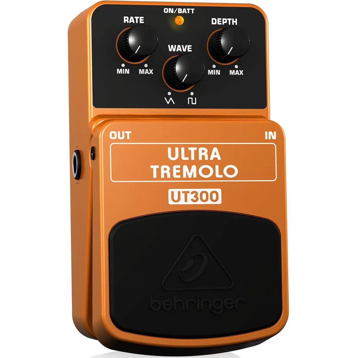 Pedal de Efeito Behringer UT300 Ultra Tremolo