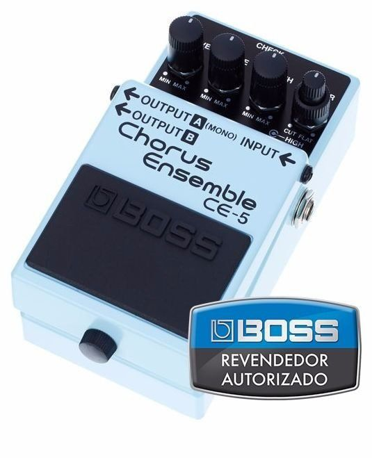 Pedal de Efeito Boss Chorus Ensemble CE5 para Guitarra