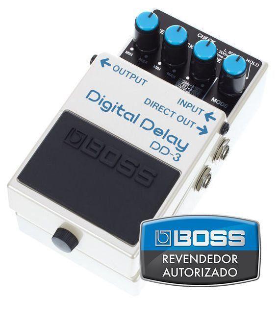 Pedal de Efeito Boss Digital Delay DD3 para Guitarra