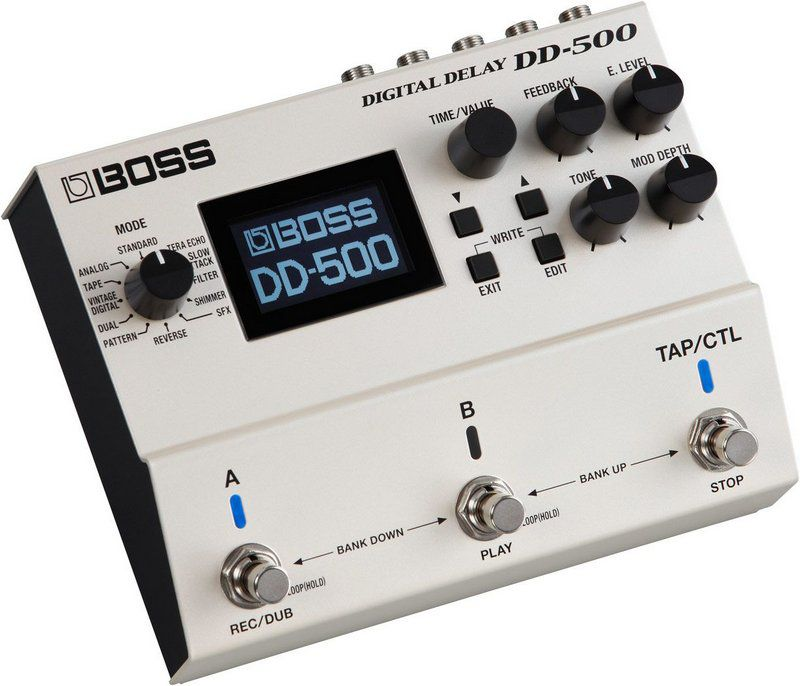 Pedal de Efeito Boss Digital Delay DD500 para Guitarra