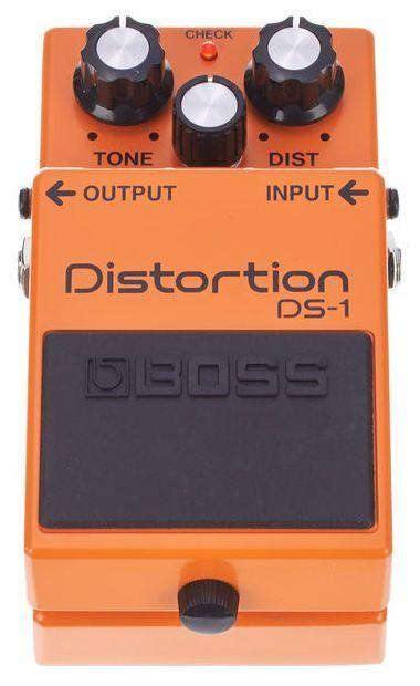 Pedal de Efeito Boss Distortion DS1 para Guitarra