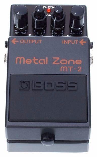 Pedal de Efeito Boss Metal Zone MT2 para Guitarra
