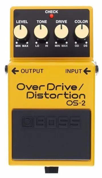 Pedal de Efeito Boss Overdrive/ Distortion OS-2 Usado