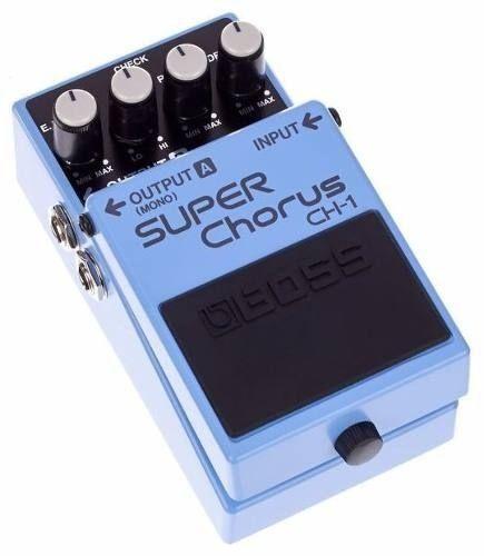 Pedal de Efeito Boss Super Chorus CH1 para Guitarra